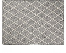 ARA Wool carpet 160x230 light gray AA1087J14