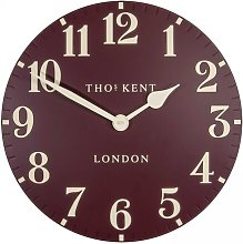 Arabic Wall Clock Thomas Kent Colour: Dark Grey,