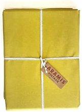 Aramis - Waxed tablecloth 140 X 200 - Marsala