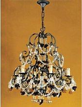 Arana 6-Light Empire Chandelier Astoria Grand