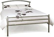 Aranda Bed Frame Zipcode Design Size: Kingsize