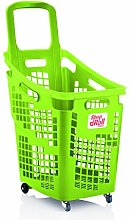 Araven Shop N Roll - X-Large 4 Wheel Plastic