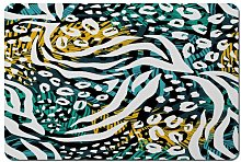 Arayig Tropical Leaves and Animal Print Cork
