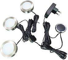 Arcchio Vilam LED under-cabinet lamps dim set of 3