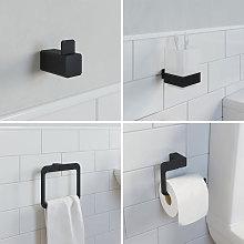 Architeckt 4 Piece Jupiter Bathroom Accessories Set
