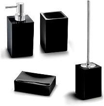 Architeckt Contemporary Black 4 Piece Bathroom