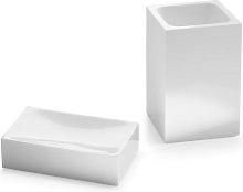 Architeckt Contemporary White 2 Piece Bathroom