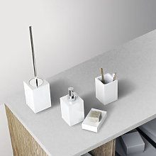 Architeckt Contemporary White 4 Piece Bathroom
