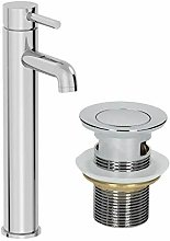 Architeckt - Modern Bathroom Tall Mono Basin Mixer