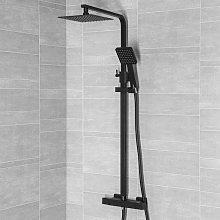 Architeckt Thermostatic Bar Mixer Shower - Square