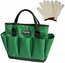 Ardermu Gardening Tool Storage Bag with 9 Pockets,