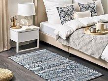 Area Rag Rug Multicolour Cotton 80 x 150 cm