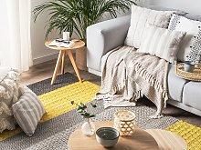 Area Rug 140 x 200 cm Multicolour Wool Bedroom