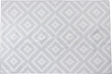 Area Rug Bedroom Living Room Carpet 120x160cm White