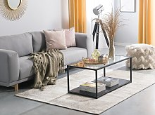 Area Rug Beige Cotton Distressed Effect 140 x 200