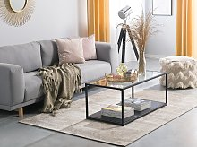 Area Rug Beige Cotton Distressed Effect 160 x 230