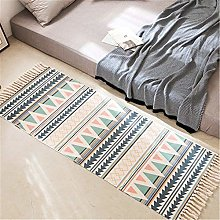 Area Rug Carpet Cotton Linen Handmade Rug, Morbuy