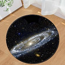 Area Rug for Bedroom Space Planet Earth Pattern
