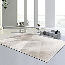 Area Rug,Gray 120x160cm Rug,For Bedroom Living