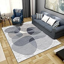 Area Rug,Gray 120x180cm Rug,For Bedroom Living
