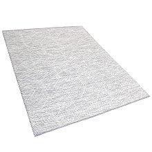 Area Rug Grey with Beige 160 x 230 cm EDREMIT