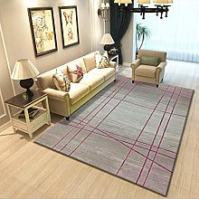 Area Rug Mat Pink and purple lines stylish