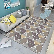 Area Rug Modern minimalist geometric living room