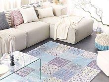 Area Rug Multicolour Fabric 160 x 230 cm Patchwork