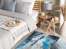 Area Rug Multicolour Fabric 80 x 150 cm
