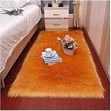 Area Rug Plush Soft Bedroom Carpet Imitation Wool
