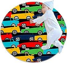 Area Rug Round Carpet Car Color Rug For Bedroom