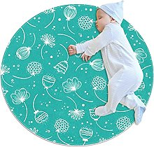 Area Rug Round Carpet Cute Rug For Bedroom Living