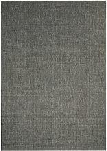 Area Rug Sisal Look Indoor/Outdoor 120x170 cm Dark