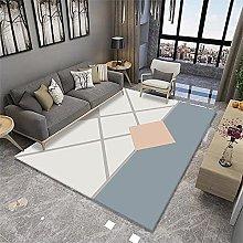 Area Rug Sofa Carpet For Hall Light blue carpet