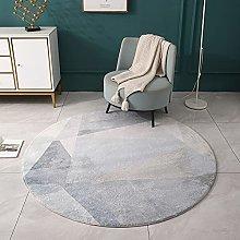 Area Rugs Circle Grey 140cm 160cm 180cm 200cm Soft