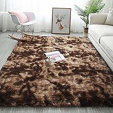 Area Rugs Fluffy Bedroom Carpets Anti-Slip Living