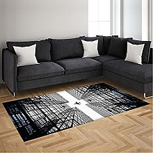 Area Rugs Gray City Airplane Soft Rugs Floor