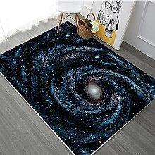 Area Rugs Home Decor Large Carpets Black cosmic