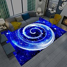 Area Rugs Home Decor Large Carpets Blue and white