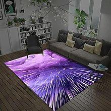 Area Rugs Home Decor Large Carpets Purple starry