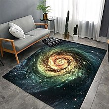 Area Rugs Home Decor Large Carpets Yellow starry