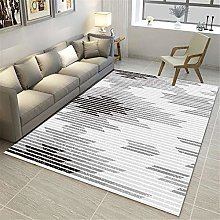 Area Rugs Minimalist Modern Stripes Hairless Rugs