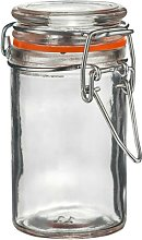 Argon Tableware Glass Spice Jar With Airtight Clip