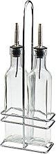 Argon Tableware Set of 2 Olive Oil/Vinegar Bottle