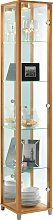 Argos Home 1 Glass Door Display Cabinet - Beech