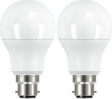 Argos Home 10W LED BC Light Bulb - 2 Pack