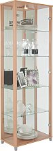 Argos Home 2 Door Glass Display Cabinet - Beech