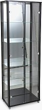 Argos Home 2 Door Glass Display Cabinet - Black