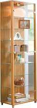 Argos Home 2 Glass Door Display Cabinet - Light
