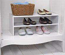 Argos Home 2 Shelf Internal Wardrobe Shoe Rack -